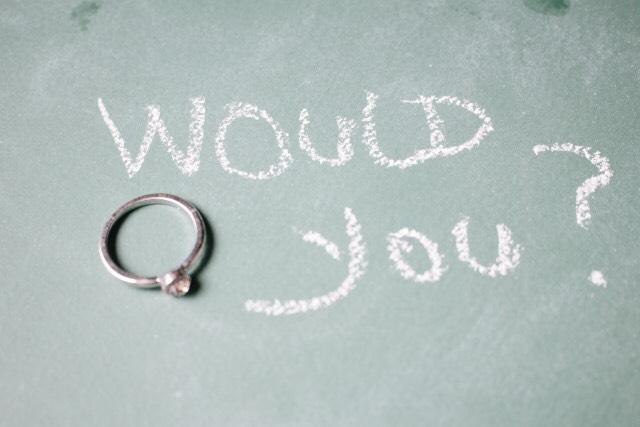 プロポーズは突然に・・・?計画的に?