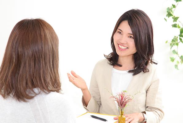 心理カウンセラーの資格を持つプロがフルサポート