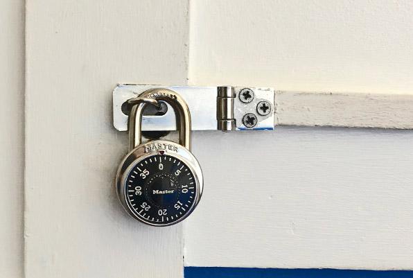 万全のセキュリティ 個人情報